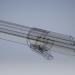 3d Semi-automatic injector syringe 3-5 ml 3D Model model buy - render