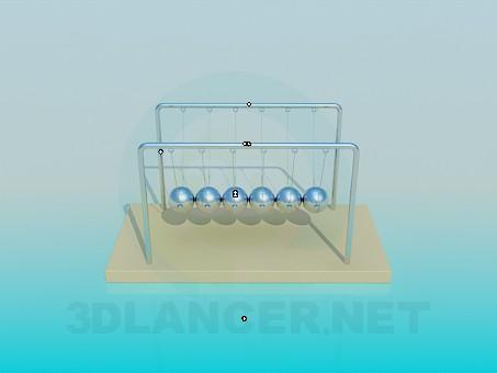 modelo 3D Bolas - escuchar