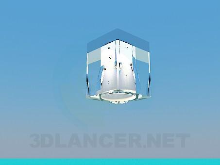 modelo 3D Luz del halógeno - escuchar