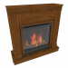 3d model Electric fireplace - preview