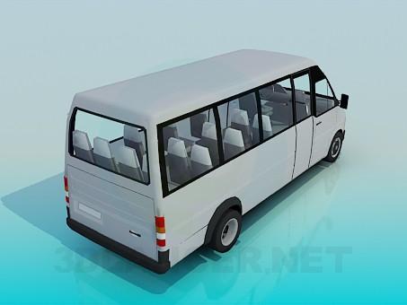3d model Minibus - preview
