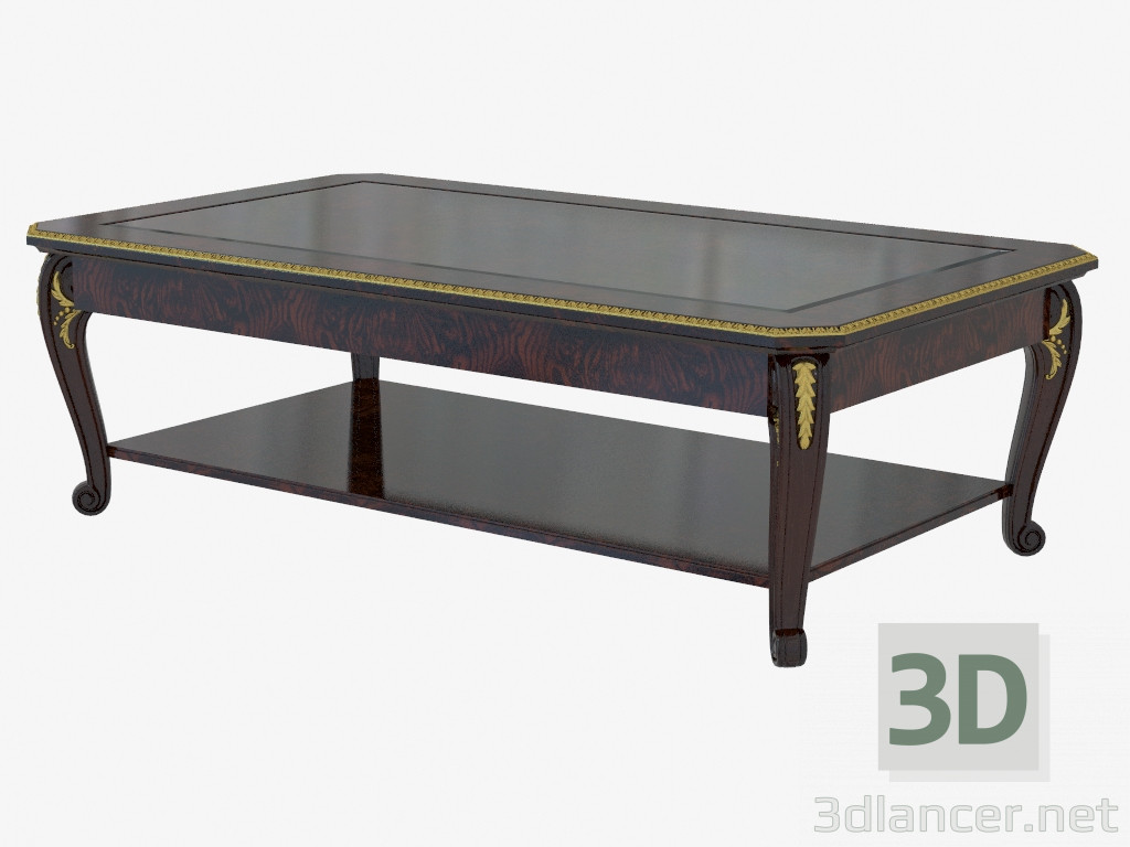 3d model Classical style coffee table 1625 - preview