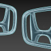 3d model Honda logo - preview