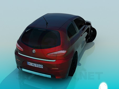 3d model Alfa Romeo - preview