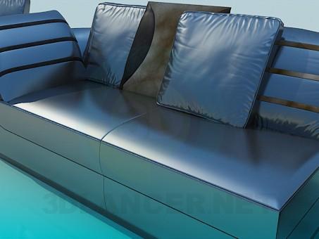 3d модель Комплект мягкой мебели – превью