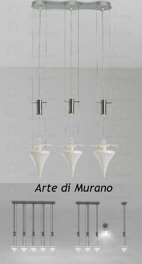 3d модель Arte di Murano 7907 – превью