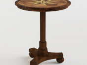 Masterpiece Antique Cherry Accent Table