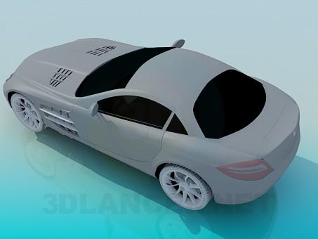 3d model Mercedes SLR - preview