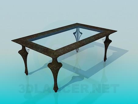 3d модель Журнальний столик – превью