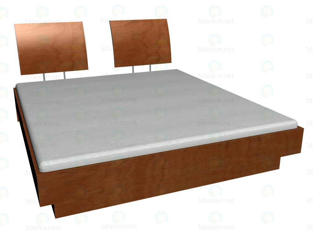 3d model Bed 200 x 180 - preview