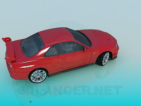3d модель Nissan Skyline – превью