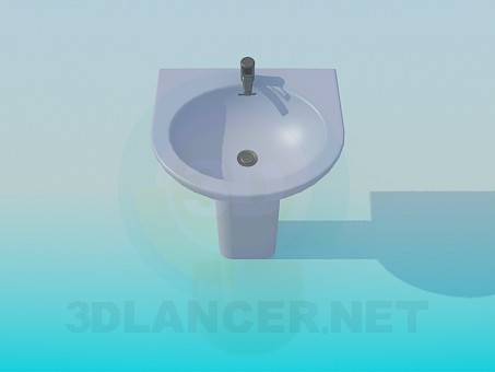 3d modeling Wash stand model free download