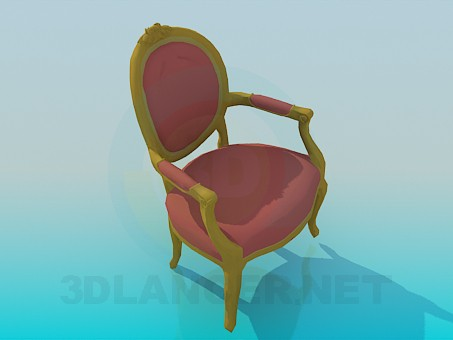 3d modeling Classic chair model free download