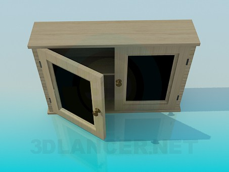 3d model Hanging kitchen cupboard - preview