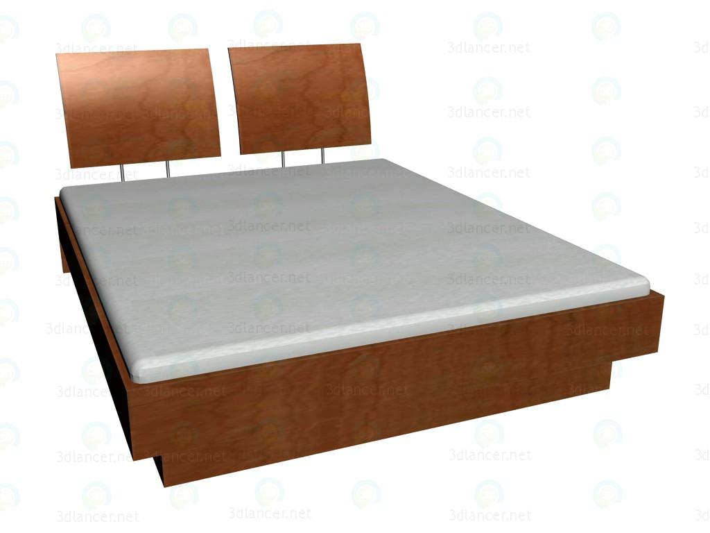 3d модель Кровать 200x160 VOX – превью