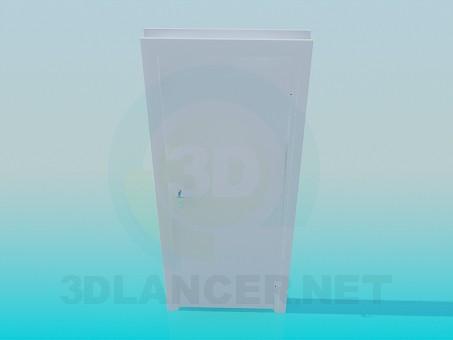 3d model Office door - preview