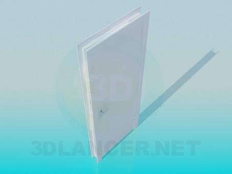 3d модель Дверь офисная – превью