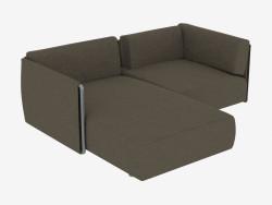 sofás modulares Duplo fianco Prazo
