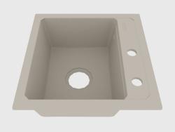 Fregadero, 1 recipiente sin ala para secar - alabastro Zorba (ZQZ A103)