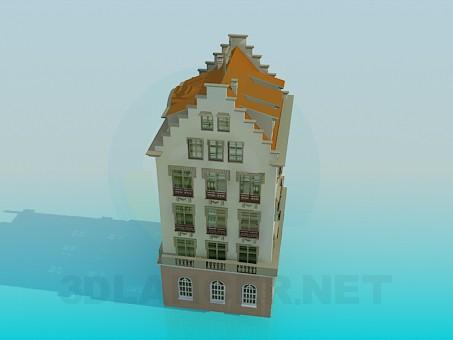 descarga gratuita de 3D modelado modelo Página de inicio