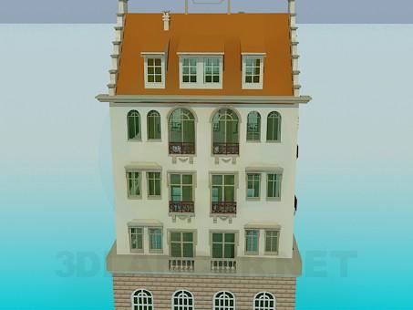 3d модель Дом – превью