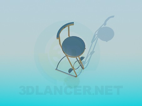 3d modeling High chair model free download