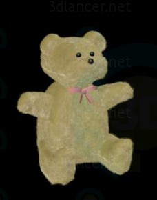 3d моделювання плюшевий ведмідь модель завантажити безкоштовно
