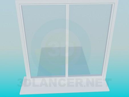 modelo 3D Ventana - escuchar