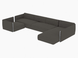 sofás modulares fianco 275