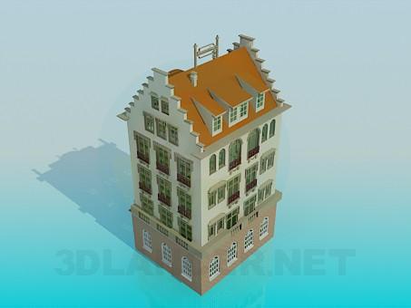 modelo 3D Página de inicio - escuchar