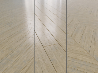 Parquet board natural wood