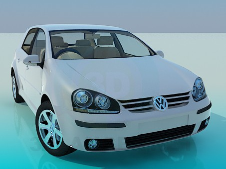 3d modeling Volkswagen Polo model free download