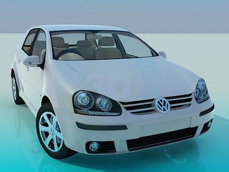 descarga gratuita de 3D modelado modelo Volkswagen Polo