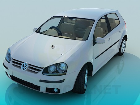 3d модель Volkswagen Polo – превью