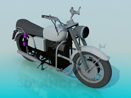 3d model Moto - vista previa