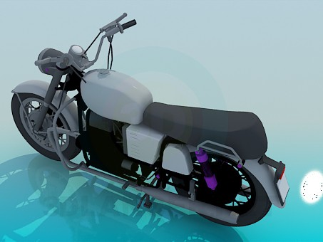 3d model Motorbike - preview