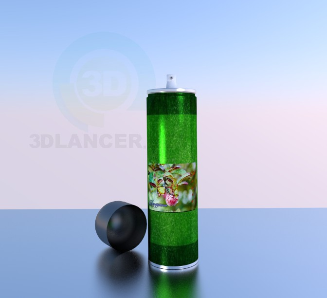 3d model Body spray - preview