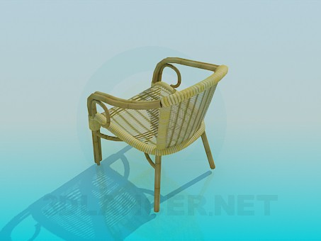 3d model Woven Chair - preview