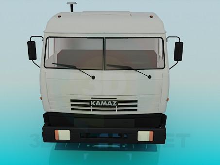 modelo 3D KAMAZ - escuchar