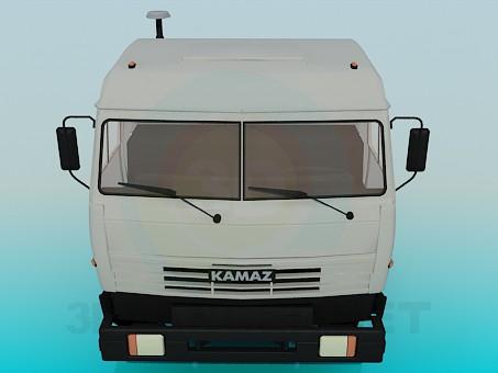 3d model KAMAZ - preview