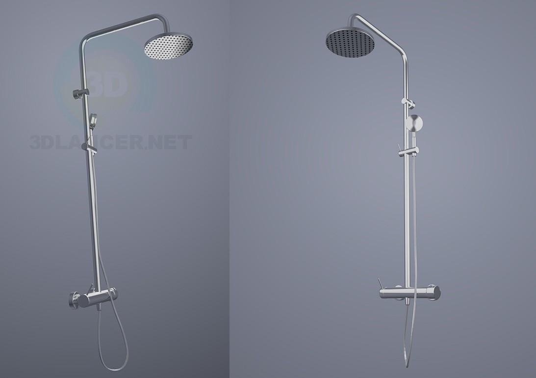 3d model Shower column KLUDI - preview