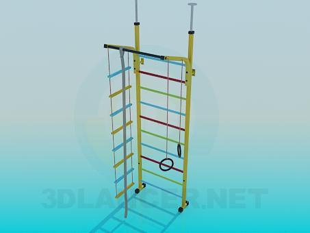 3d model Children's sports equipment - preview