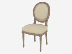 Dining chair FRENCH VINTAGE LOUIS ROUND SIDE CHAIR (8827.0003.A015)