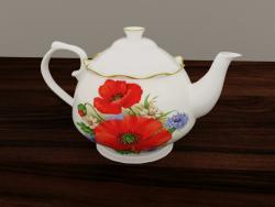 Porselen çaydanlık
