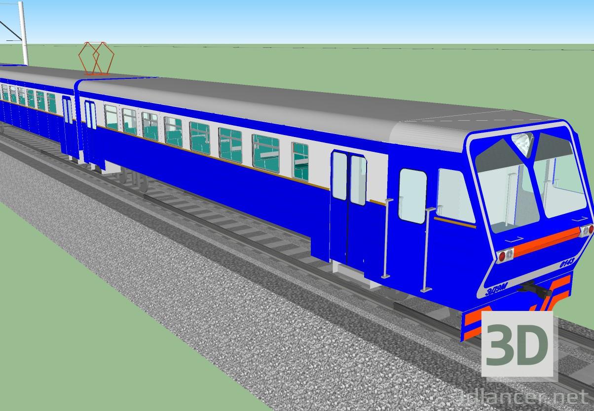 3d Model Train Ed9m