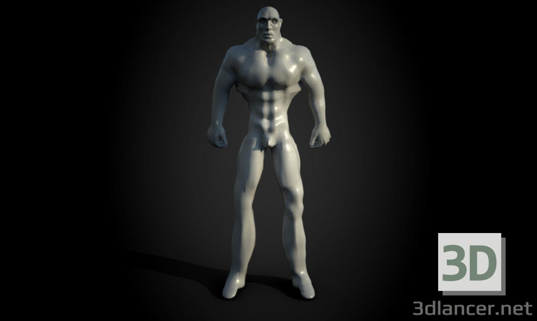 modèle 3D L'homme - preview