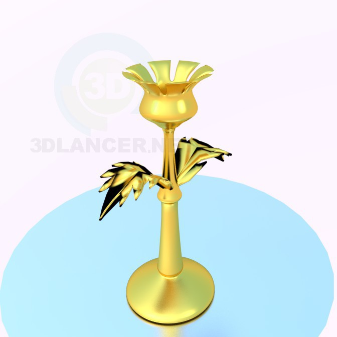 3d model Candlestick - preview