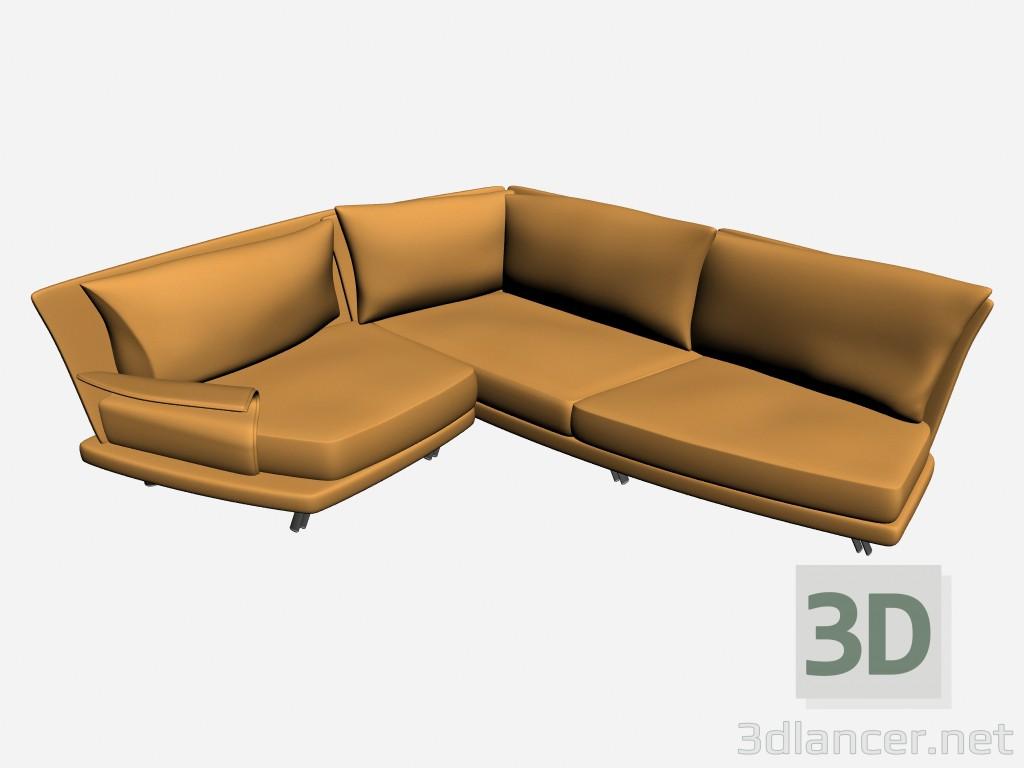 3d model sofa super roy twin 2 manufacturer il loft id 15891 - Super sofa ...