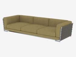 Sofá triplo Div 310