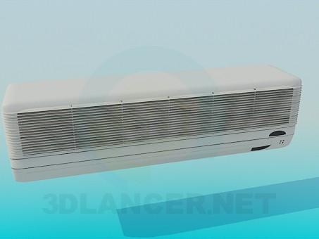 3d модель Кондиционер – превью